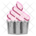 Bakery Food Birthday Cupcake Dessert Icon