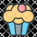 Muffin Cupcakes Dessert Icon