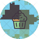 Muffin Cup Cake Icon