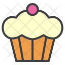 Muffin Cake Thanksgiving Icon