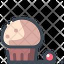Muffins Cupcake Dessert Icon
