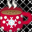 Mug Christmas Dessert Icon