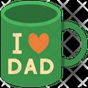 Mug Dad Fathers Day Icon