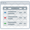 Multi Column Page Icon