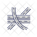 Multi Level Junction Icon