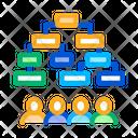 Multi Pass Algorithm Data Icon