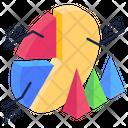 Pie Chart Data Analytics Pie Graph Icon