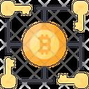 Multi Signature Key Bitcoin Icon