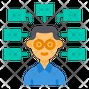 Multi Skills Conversation Communication Icon