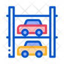 Multi Storey Parking Icon