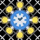 Multi Tasking Work Job Icon
