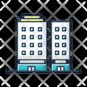 Multiapartment Complex Icon