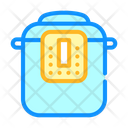 Multicooker Equipment Color Icon