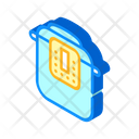 Multicooker Equipment Isometric Icon