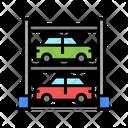 Multilevel Parkig Multilevel Car Parking Icon