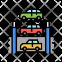Multilevel Parking Car Parking Multilevel Icon