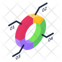 Multilevel Pie Chart Icon
