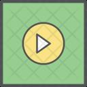 Multimedia Play Media Icon