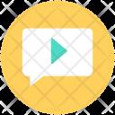 Multimedia Message Video Icon