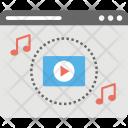 Multimedia Online Video Icon