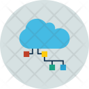 Multimedia Networking Hosting Icon