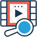 Multimedia Magnifier Video Icon