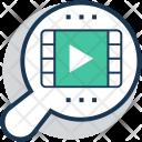 Multimedia Magnifier Video Icon