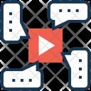 Multimedia Music Video Icon