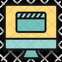 Multimedia Camera Laptop Icon
