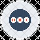 Multimedia Button Icon