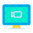 Multimedia Computer Icon