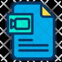 Multimedia Document Icon