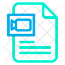 Document Video Video File Icon