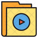 Multimedia Folder Icon