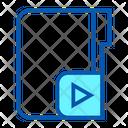 Video Folder File Icon