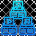 Multimedia Server Icon