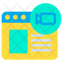 Multimedia Web Icon