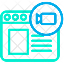Web Video Online Video Icon