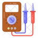 Voltage Meter Multimeter Voltmeter Icon
