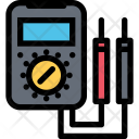 Multimeter Plumber Cleaning Icon
