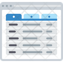 Multipage Column Icon