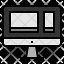 Multiplatform Computer Labtop Phone Multi Platforming Seo Seo Web Icon