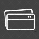 Multiple Credti Cards Icon