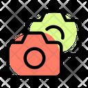 Multiple Camera Back View Camera Icon