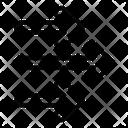 Multiple Right Arrow Icon