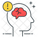 Multiple Sclerosis Brain Sclerosis Icon