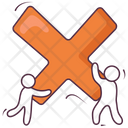 Multiple Sign Multiple Symbol Multiplication Icon