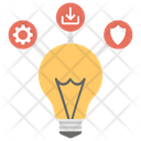 Multi Station Multi Task Technological Ideas Icon