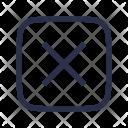 Multiplication Calculator Cancel Icon