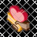 Multiracial Handshake Heart Icon